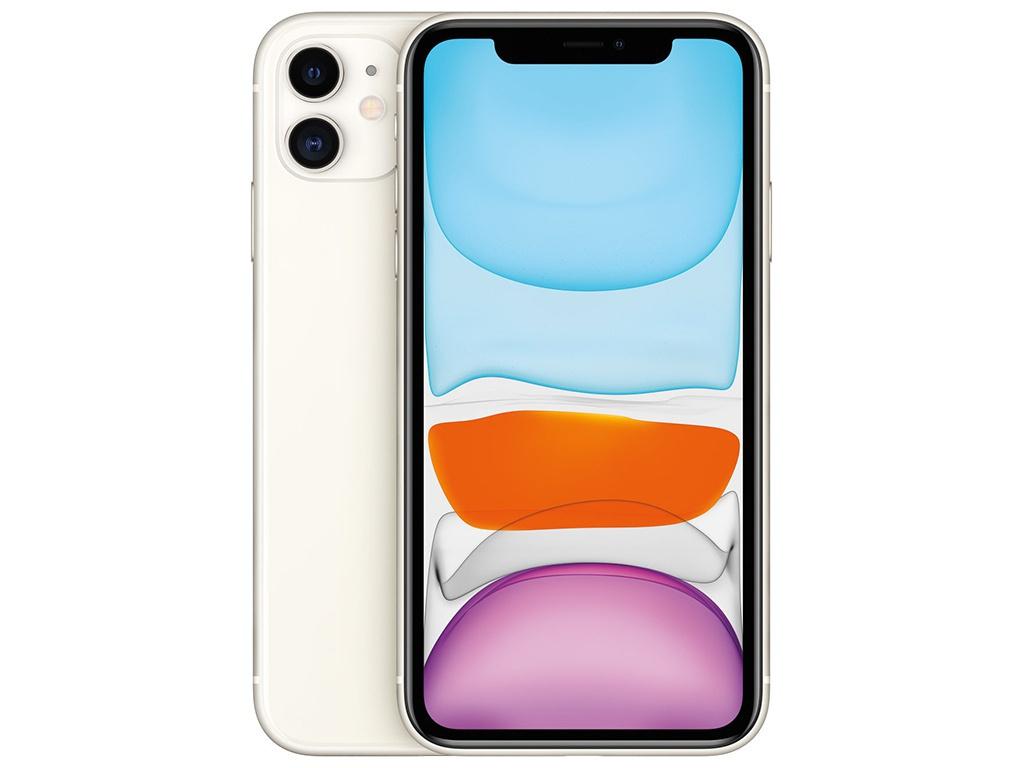 Сотовый телефон APPLE iPhone 11 - 256Gb White MWM82RU/A Выгодный набор + серт. 200Р!!!