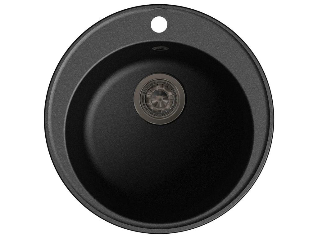 Кухонная мойка LEX Lugano 480 Black RULE000002 кухонная мойка lex geneva 740 black