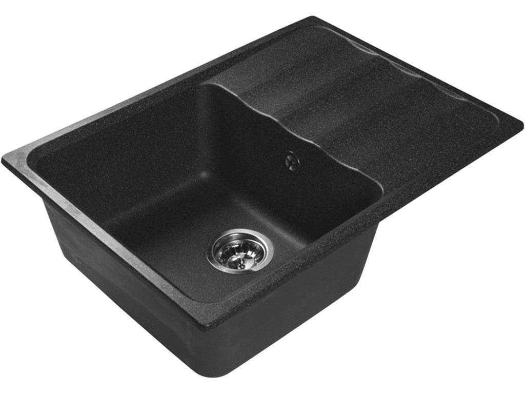 Кухонная мойка LEX Sirino 680 Black RULE000104 кухонная мойка lex geneva 740 black