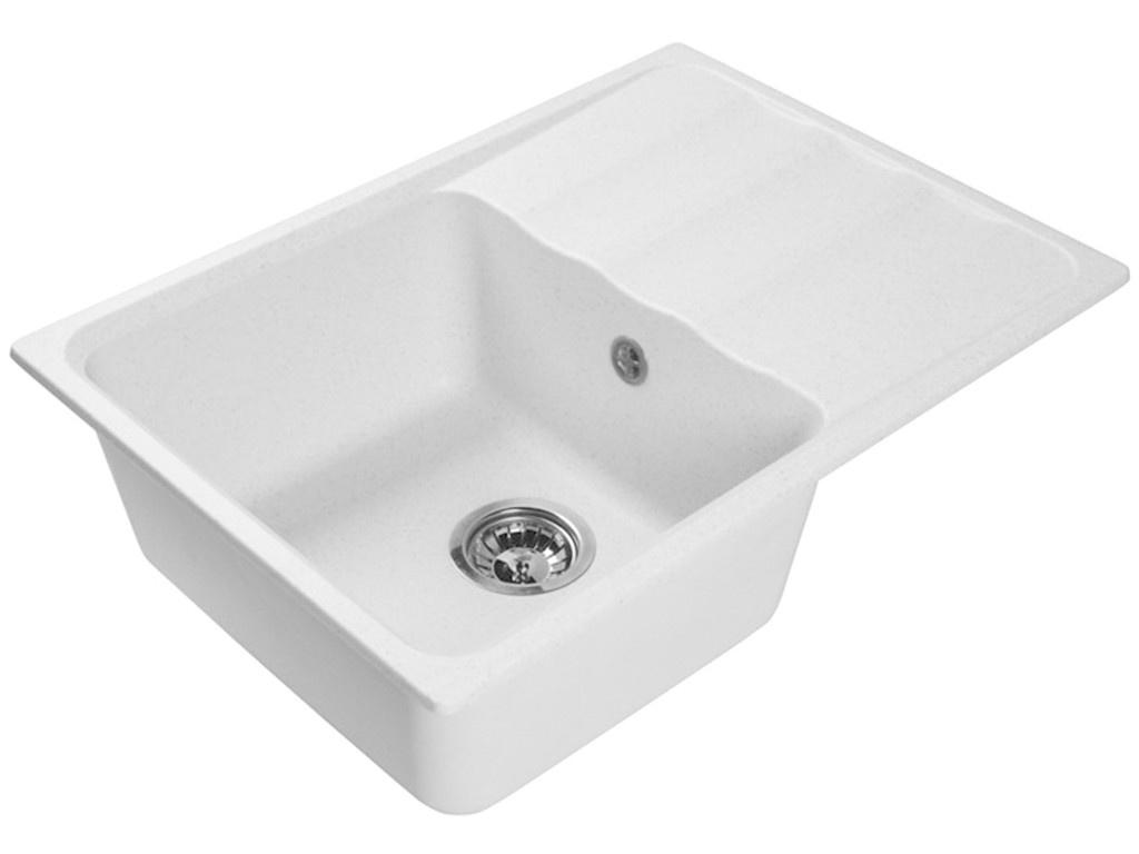 Кухонная мойка LEX Sirino 680 White RULE000103 кухонная мойка lex geneva 740 white