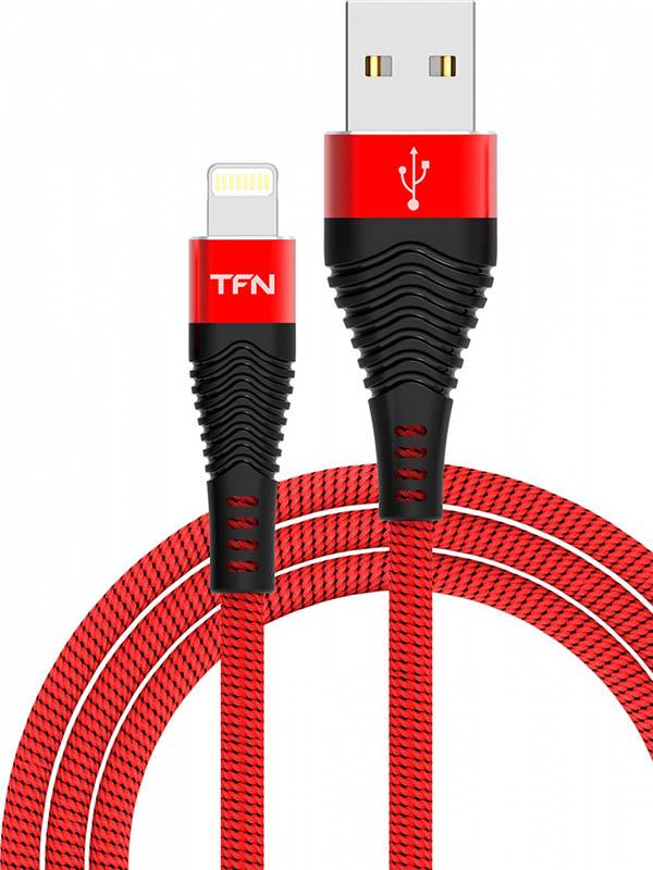 Аксессуар TFN Forza USB - Lightning 1m Red-Black TFN-CFZLIGUSB1MRD Forza TFN-CFZLIGUSB1MRD фото