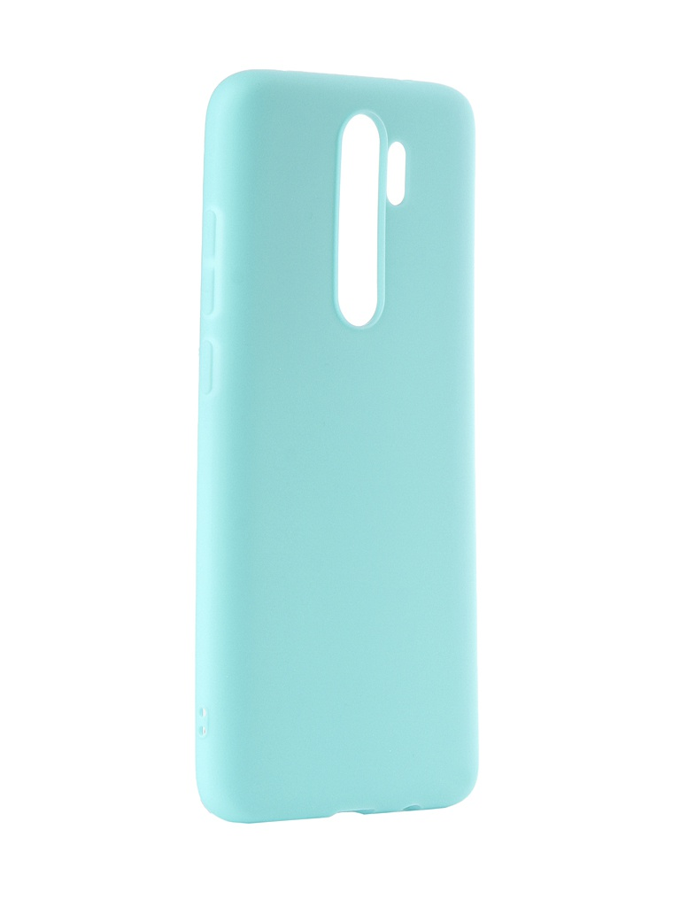 Чехол Zibelino для Xiaomi Redmi Note 8 Pro 2019 Soft Matte Turquoise ZSM-XIA-RDM-NOT8PRO-TRQ