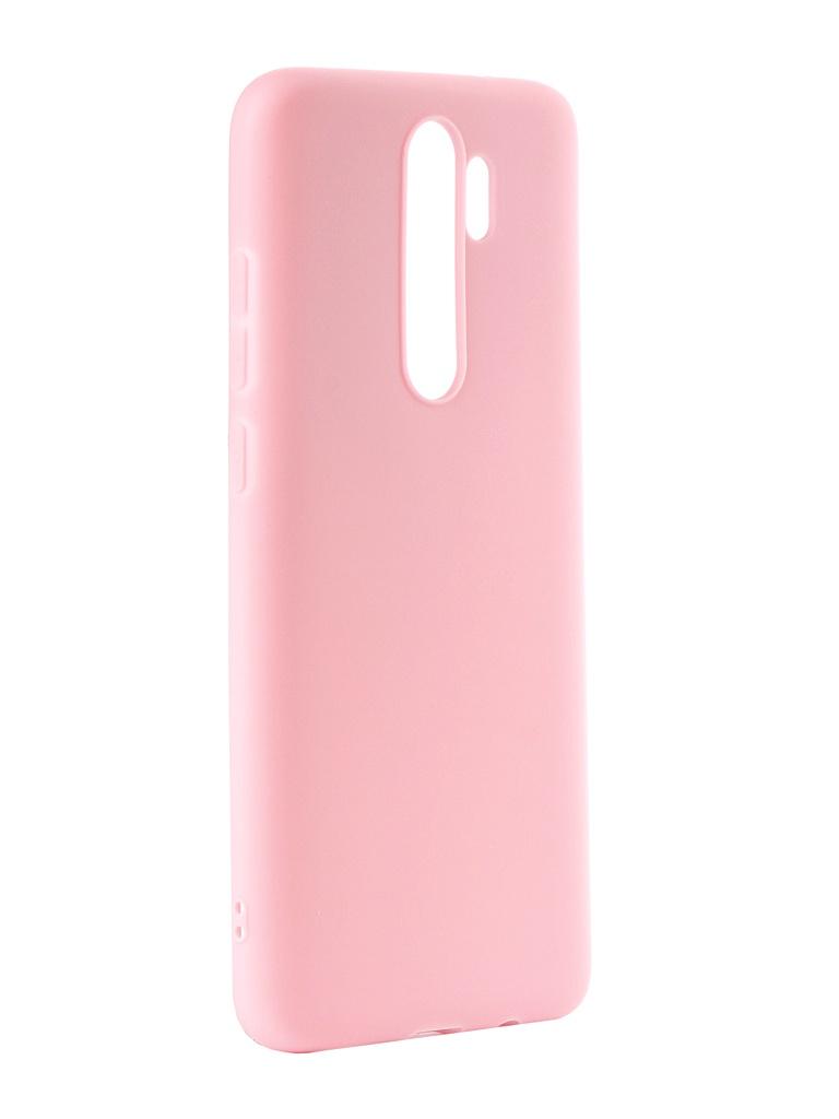 Чехол Zibelino для Xiaomi Redmi Note 8 Pro 2019 Soft Matte Pink ZSM-XIA-RDM-NOT8PRO-PNK