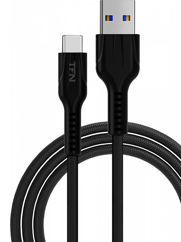 Аксессуар TFN Forza USB 3.0 - Type-C 1m Black TFN-CFZUSBCUSB3BK