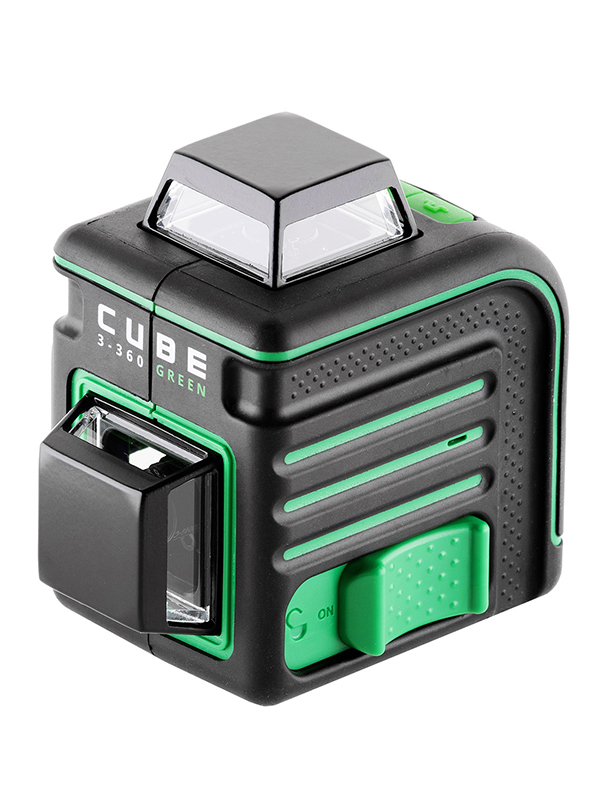 Нивелир ADA Cube 3-360 Basic Edition Green A00560