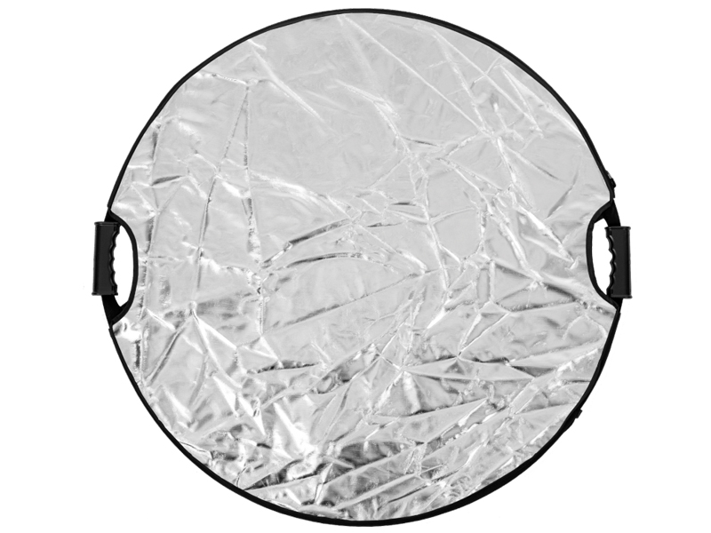 Светоотражатель Raylab RF-05 110cm 5 in 1 Translucent/White/Silver/Gold/Black с ручкой