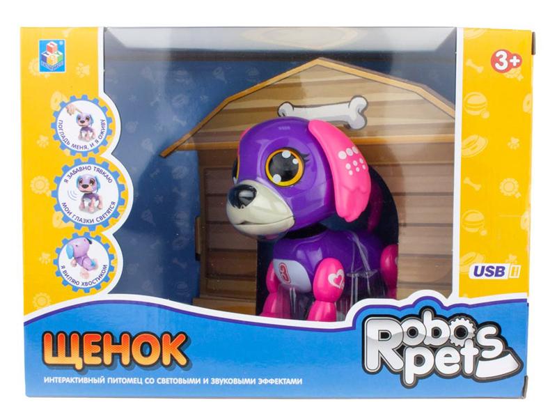 Игрушка 1Toy Робо-щенок Violet Т16799