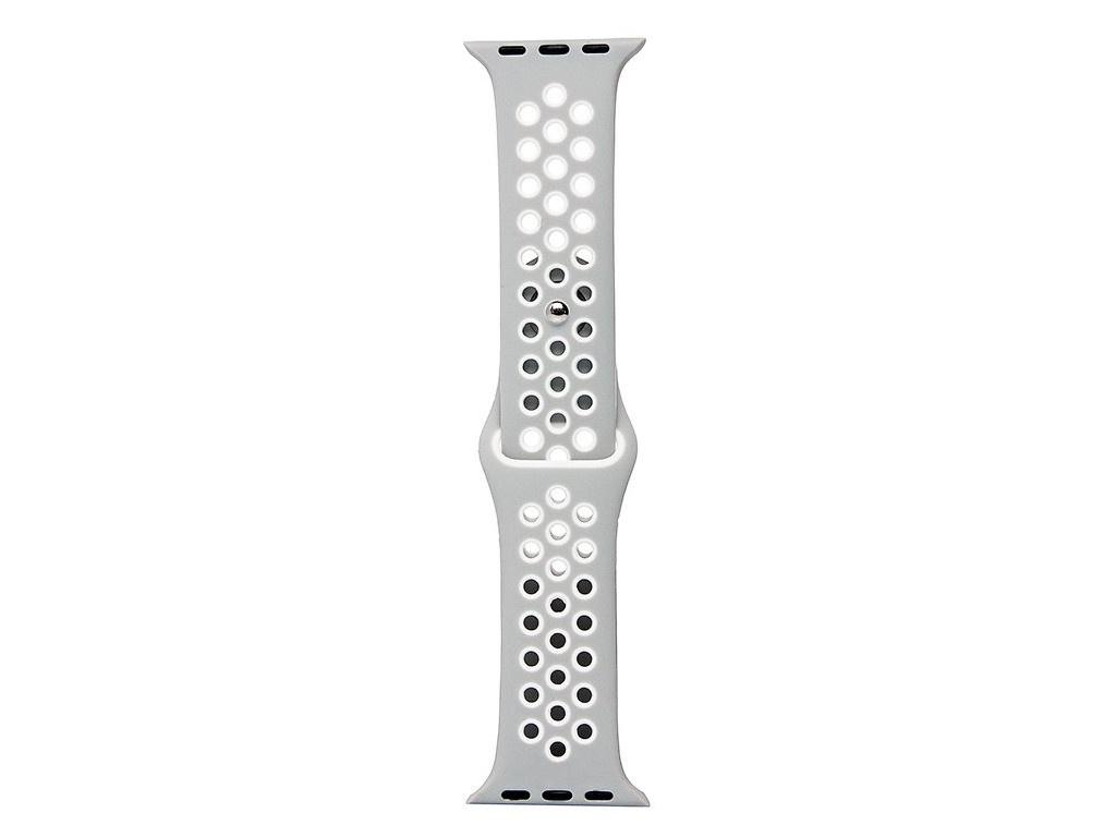 Аксессуар Ремешок Activ для APPLE Watch 42/44mm Sport N S Grey-White 107235