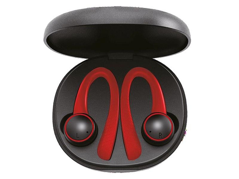 Наушники Perfeo TWS Onlay Black-Red PF_4905