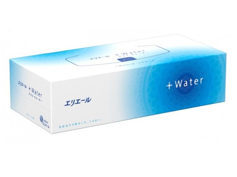 Салфетки Elleair +Water 180шт 713619