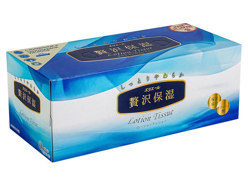 Салфетки Elleair Lotion Tissue 200шт 713628