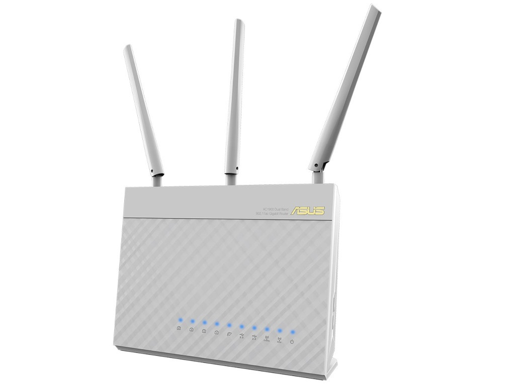 Wi-Fi роутер ASUS RT-AC68U White цены онлайн