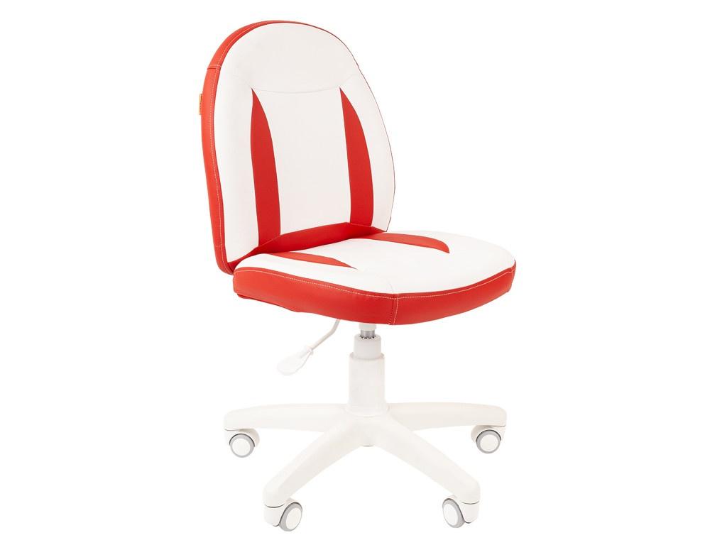 Компьютерное кресло Chairman Kids 122 Экопремиум White-Red 00-07033126