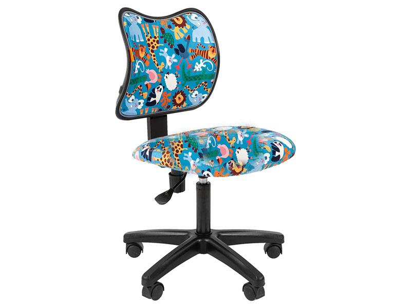 Компьютерное кресло Chairman Kids 102 Зоопарк ткань Black 00-07036637