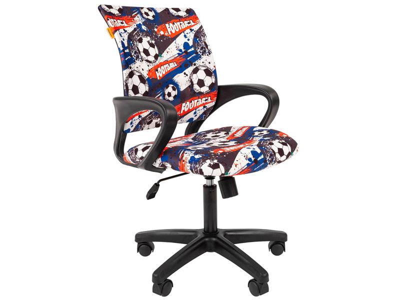 Компьютерное кресло Chairman Kids 103 Футбол ткань Black 00-07037747