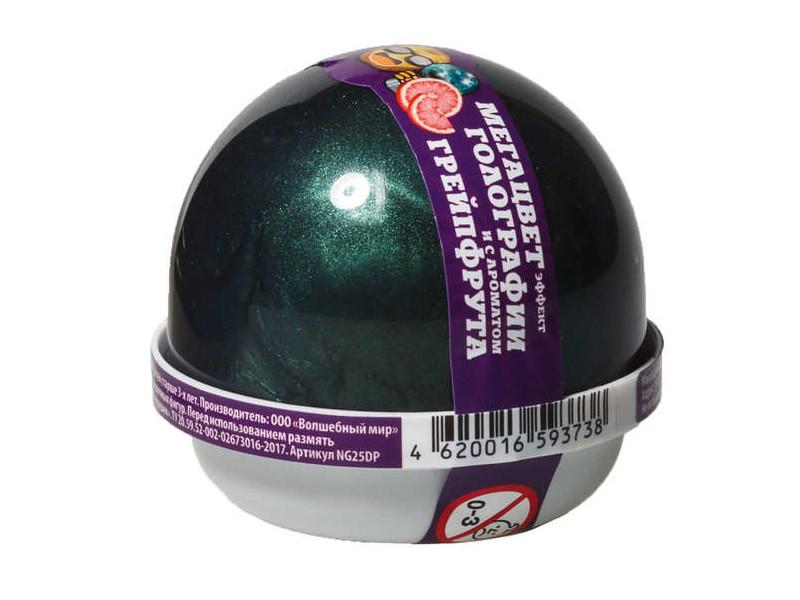 Слайм Nano Gum Эффект голографии и аромат грейпфрута 25гр NGHG25