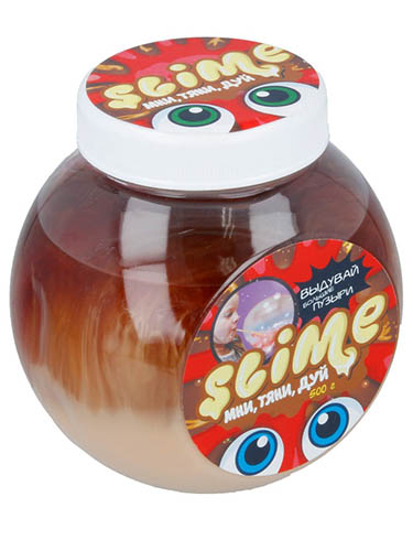 Слайм Лизун Slime Mega Mix 500гр мороженое + клубника кола S500-7