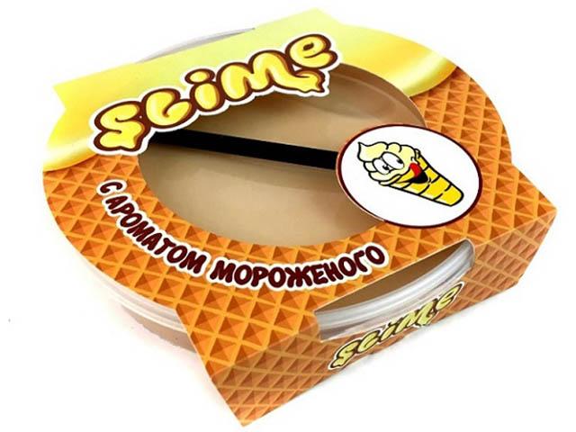 Игрушка антистресс Лизун Slime Mega 300гр с ароматом мороженого S300-15