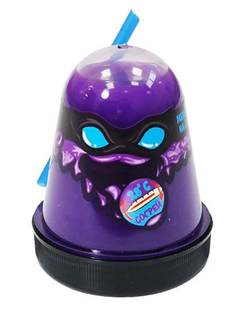 Слайм Лизун Slime Ninja 130гр меняет цвет на Light Blue S130-7