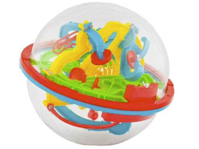 Головоломка Slime Track Ball 3D 13cm 100 ходов HB047836