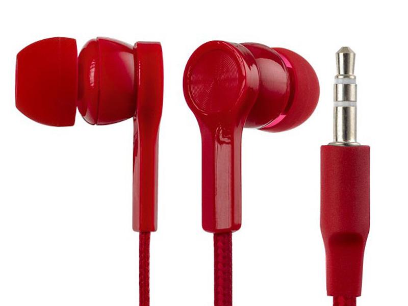 Наушники Perfeo Rete Red — PF_A4625