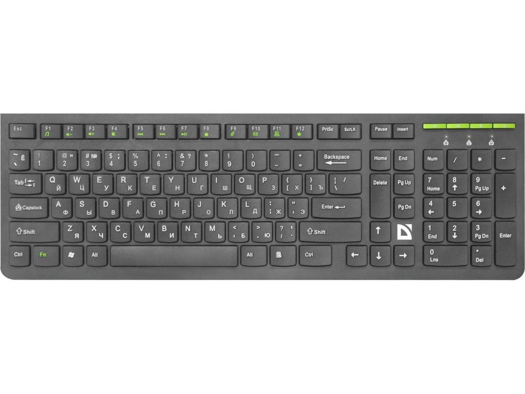 лучшая цена Клавиатура Defender Ultramate SM-536 45536