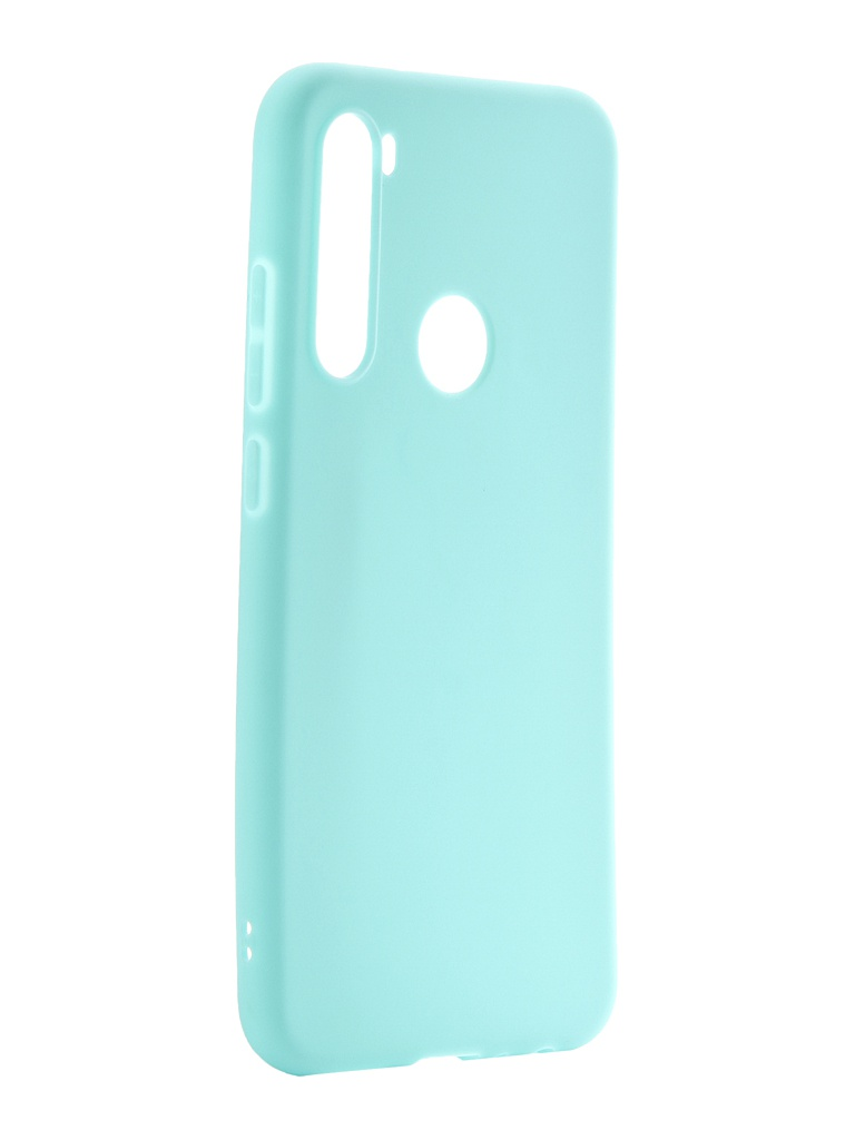 Чехол Neypo для Xiaomi Redmi Note 8 Soft Matte Turquoise NST15554