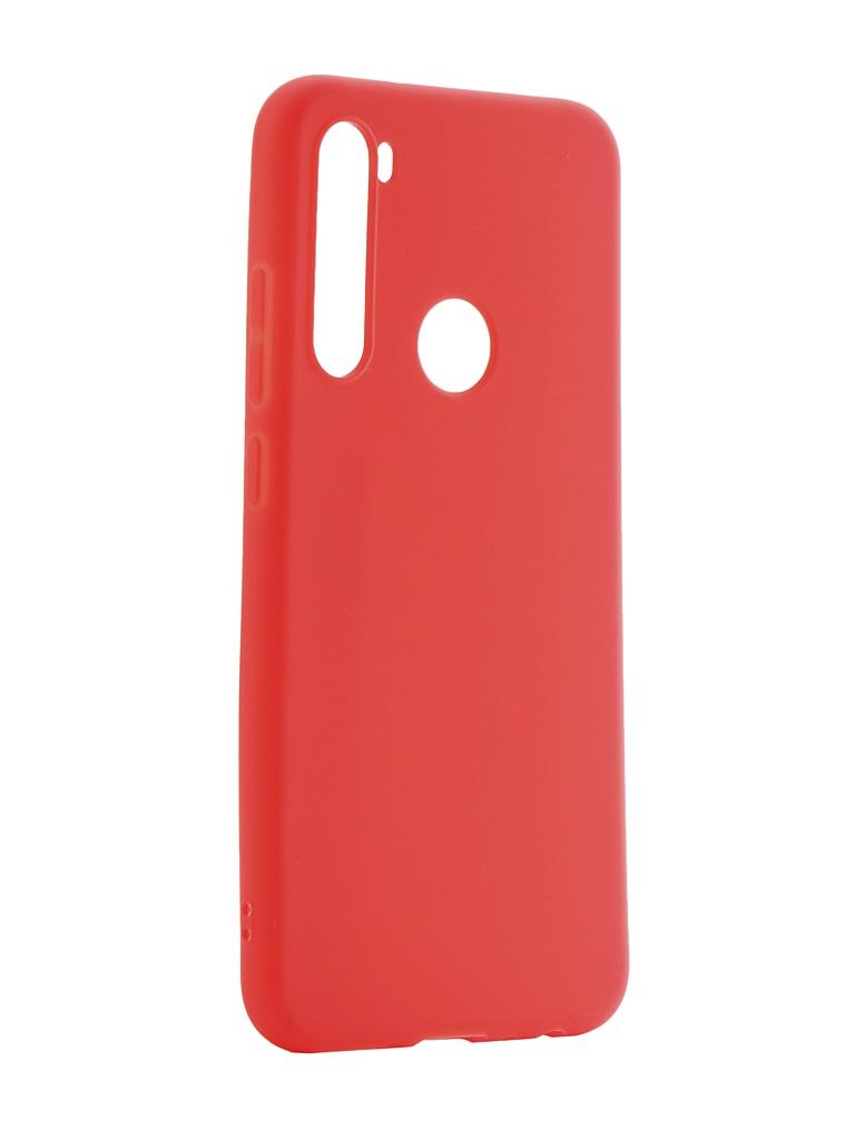 Чехол Neypo для Xiaomi Redmi Note 8 Soft Matte Red NST15555