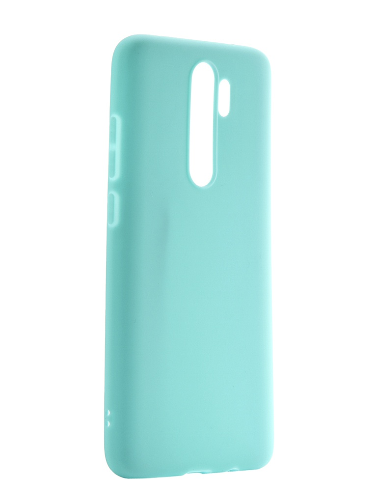 Чехол Neypo для Xiaomi Redmi Note 8 Pro Soft Matte Turquoise NST15551 чехол neypo для xiaomi redmi note 8 pro premium blue nsb15400