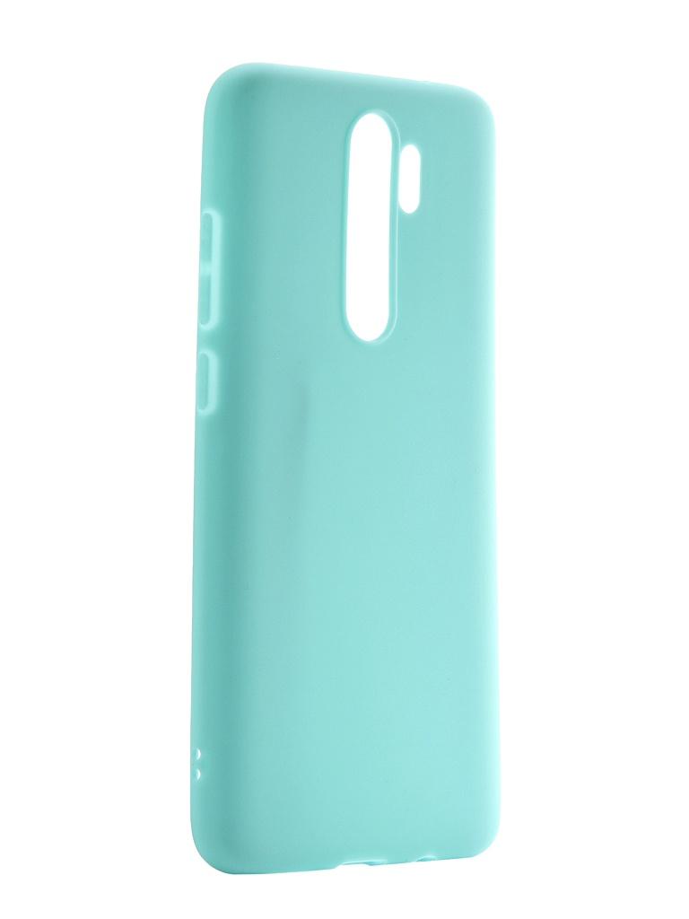 Чехол Neypo для Xiaomi Redmi Note 8 Pro Soft Matte Turquoise NST15551 цена и фото