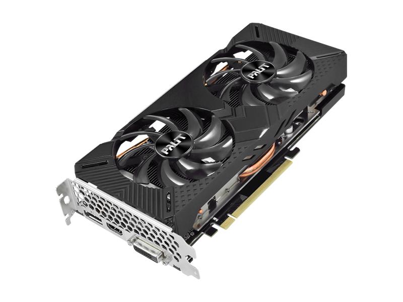 Видеокарта Palit GeForce GTX 1660 SUPER GP 1530Mhz PCI-E 3.0 6144Mb 14000Mhz 192 bit DVI HDMI DP NE6166S018J9-1160A
