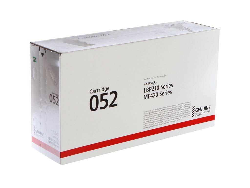 Картридж Canon 052 2199C002 Black для i-Sensys LBP210/MF420