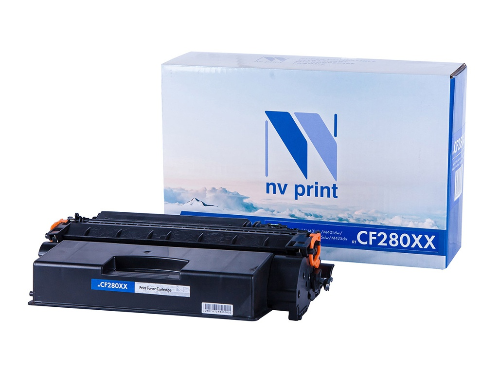 Картридж NV Print NV-CF280XX Black для LaserJet Pro M401d/M401dn/M401dw/M401a/M401dne/MFP-M425dw/M425dn фото