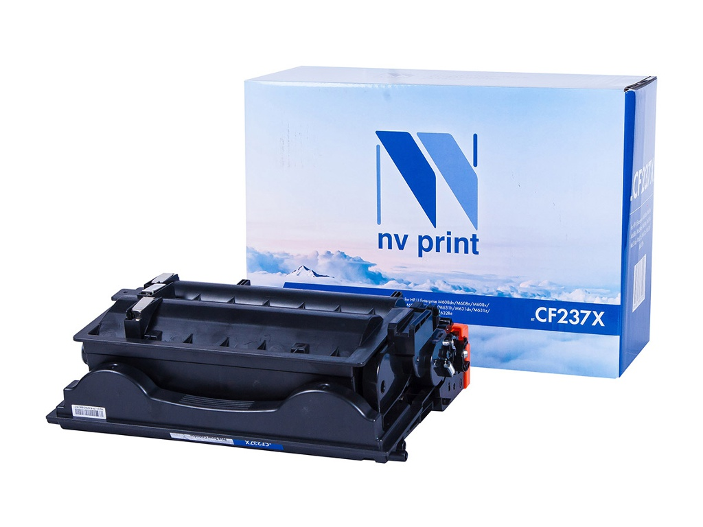 Картридж NV Print NV-CF237X Black для LaserJet Enterprise M608dn/M608n/M608x/M609dn/M609x/M631h/M631dn/M631z/M632z/M632h/M632fht