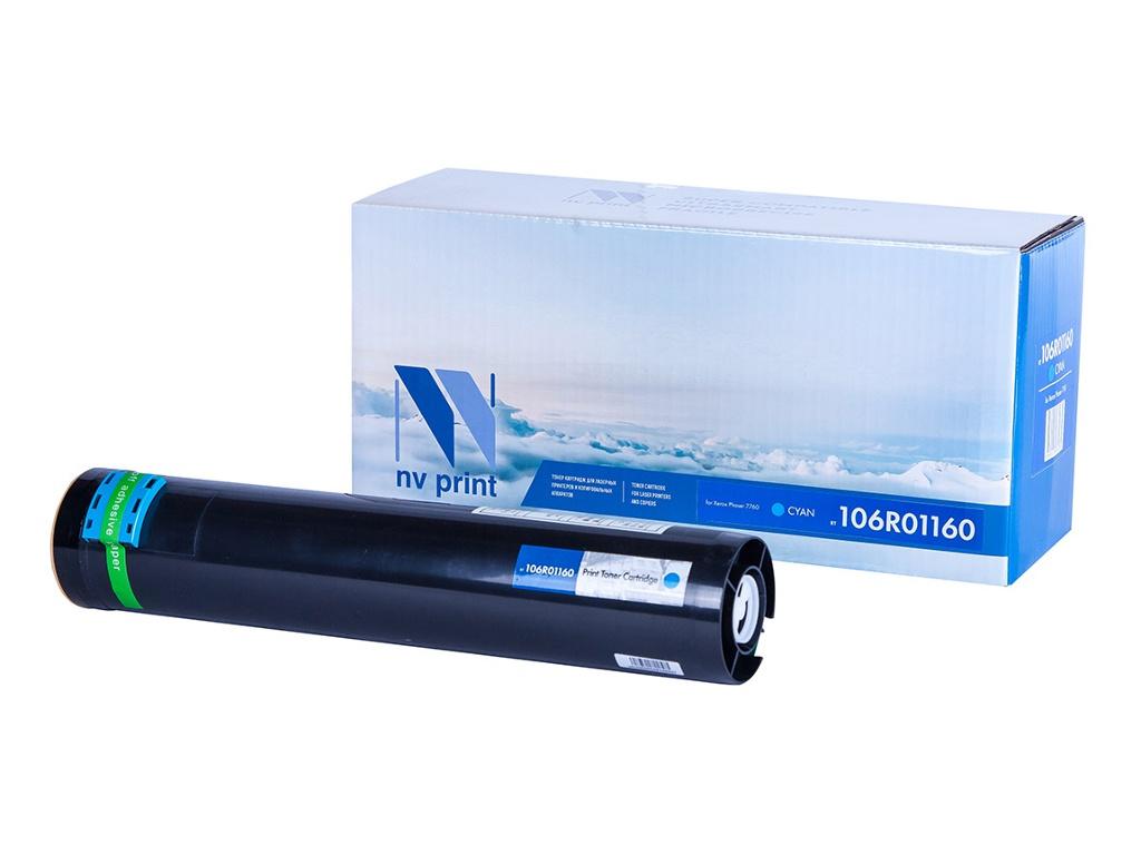 Картридж NV Print NV-106R01160 Cyan для Xerox Phaser 7760 картридж nv print 106r01524 для