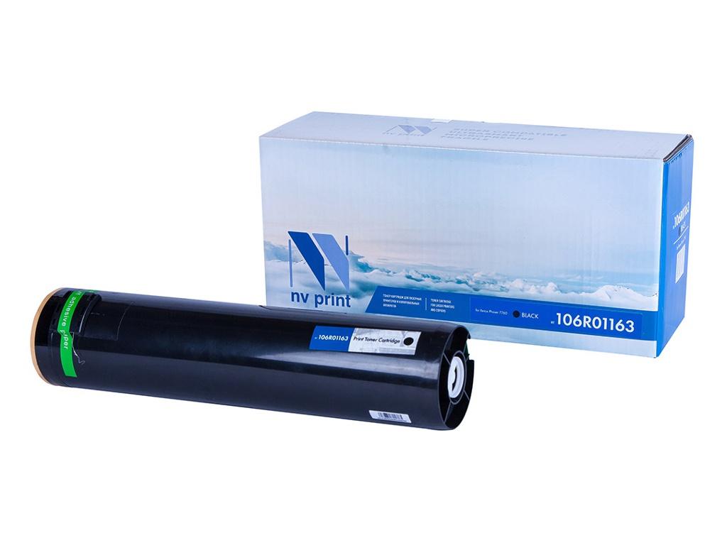 Картридж NV Print NV-106R01163 Black для Xerox Phaser 7760 картридж nv print 106r01524 для