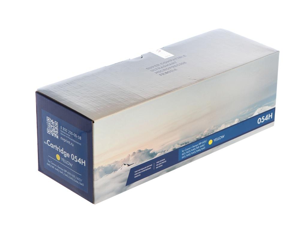 Картридж NV Print NV-054H Yellow для Canon i-Sensys LBP-620/621/623/640/MF-640/641/642/643/644/645