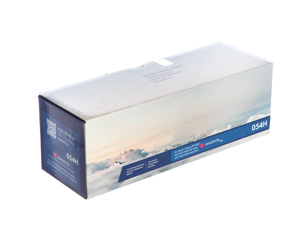 Картридж NV Print NV-054H Magenta для Canon i-Sensys LBP-620/621/623/640/MF-640/641/642/643/644/645 3100k