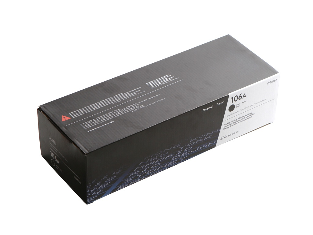 Картридж HP 106A W1106A Black для Laser 107a/107r/107w/135a/135r/135w/137fnw