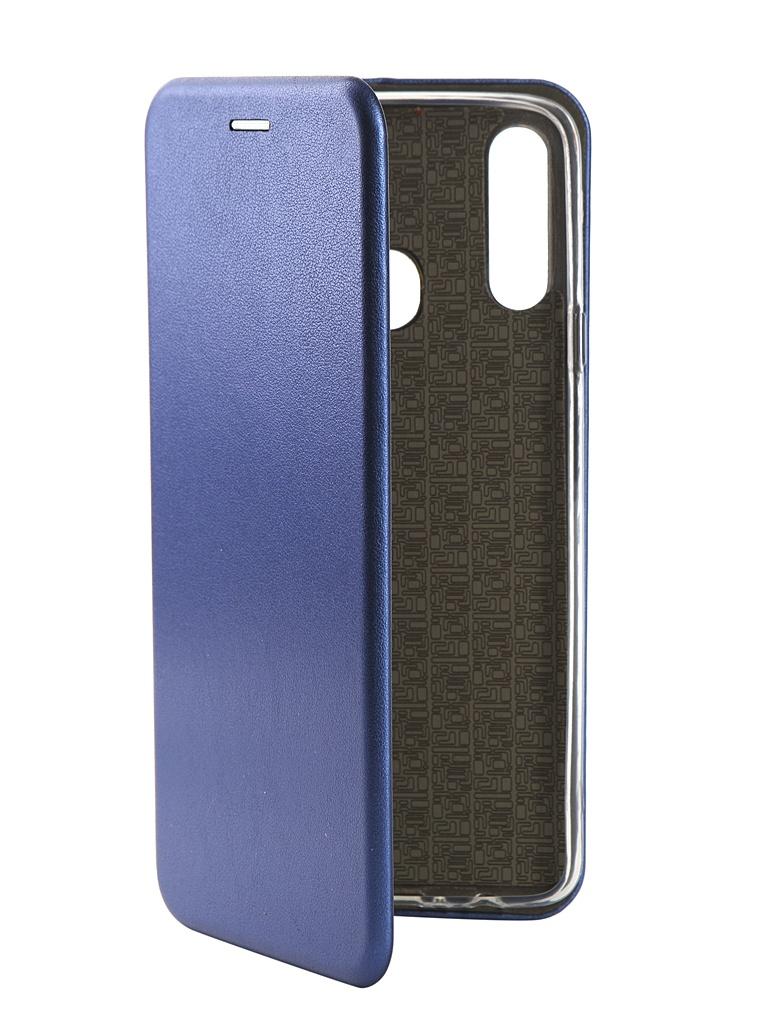 Аксессуар Чехол Zibelino для Samsung Galaxy A20s A207 2019 Book Blue ZB-SAM-A207-BLU