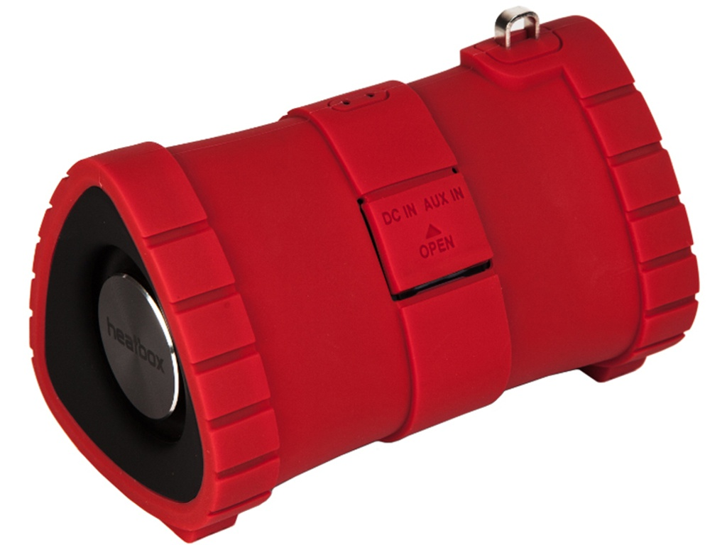 Колонка Heatbox Submarine mini Red