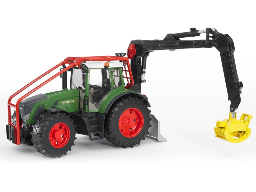 Игрушка Bruder Fendt 936 Vario Трактор лесной с манипулятором 03-042