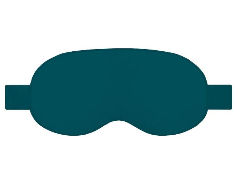 Согревающая маска для глаз Xiaomi PMA Graphene Heat Silk Blindfold Green