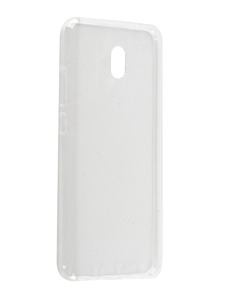 Чехол Zibelino для Xiaomi Redmi 8A 2019 Ultra Thin Case Transparent ZUTC-XMI-RDM-8A-WHT чехол zibelinoдляxiaomiredmi7a2019