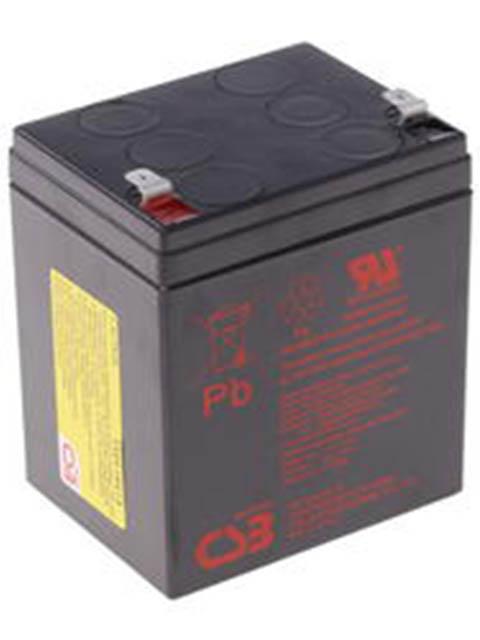Аккумулятор для ИБП CSB HR-1221W 12V 5Ah клеммы F2