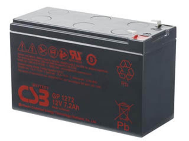 Аккумулятор для ИБП CSB GP-1272 12V 7.2Ah клеммы F2