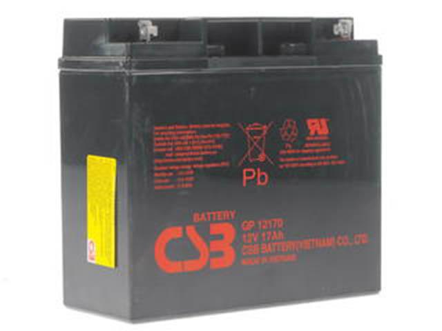 Аккумулятор для ИБП CSB GP-12170 12V 17Ah клеммы под болт M5