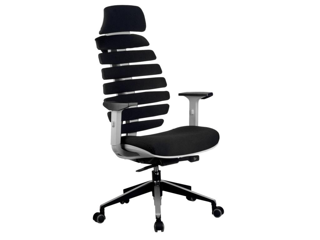 Компьютерное кресло Riva RCH Shark Grey-Black
