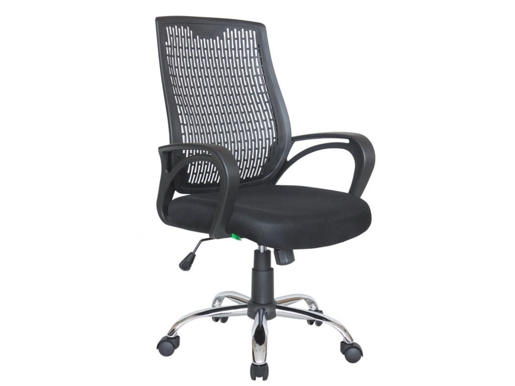 Компьютерное кресло Riva RCH 8081 Black-Black