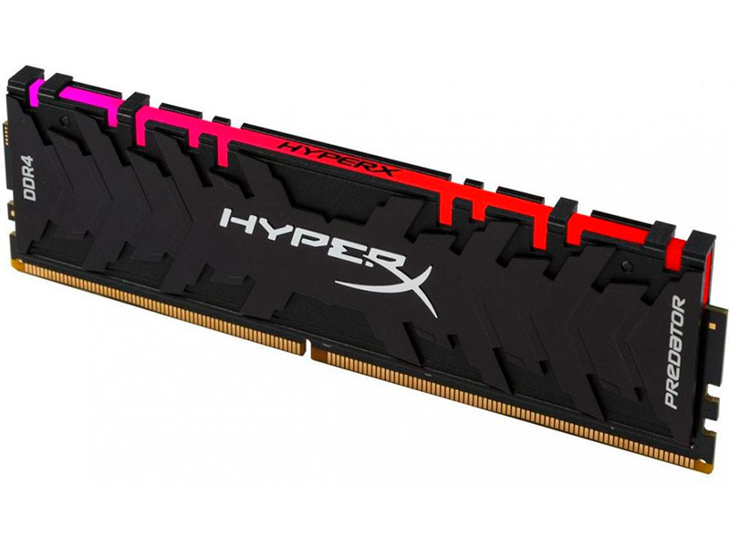 Модуль памяти Kingston XMP HyperX Predator RGB DDR4 DIMM 3000MHz PC4-24000 CL15 - 8Gb HX430C15PB3A/8